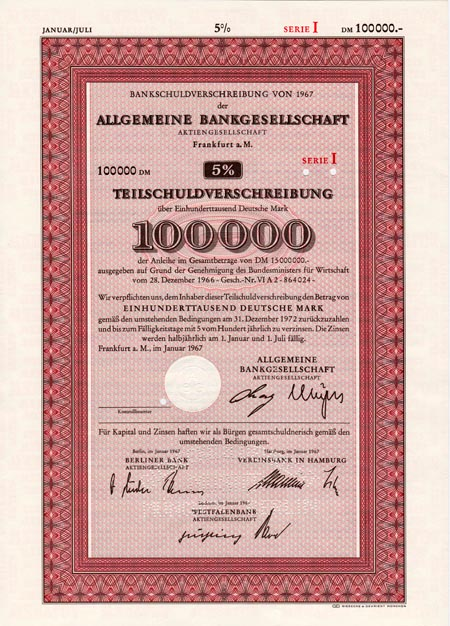 Allgemeine Bankgesellschaft Frankfurt